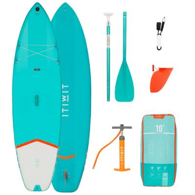 PACK 2 SUP GONFLABLE X100 10' VERT Sans taille