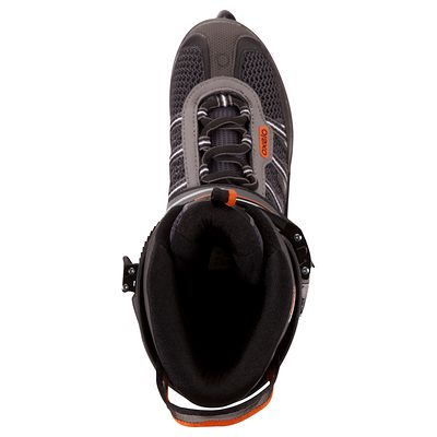 Roller fitness homme DIABOLO orange gris