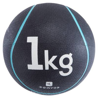 LESTE DE FITNESS ET MUSCULATION MEDECINE BALL 1 KG