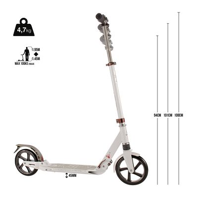 Trottinette adulte TOWN7 XL suspensions noire