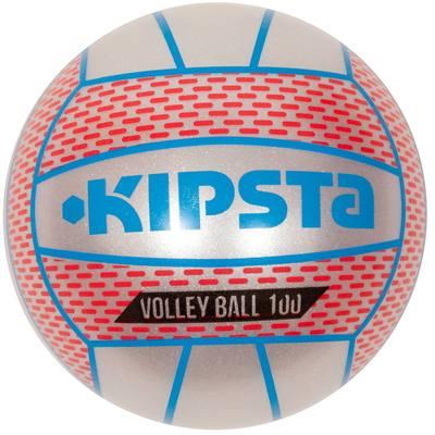 Mini ballon volleyball extérieur BV 100 gris perle