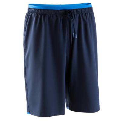 Short de football adulte F500 bleu foncé
