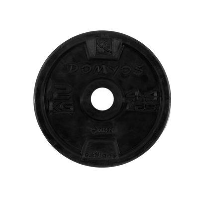 Disque caoutchouc de musculation 28 mm