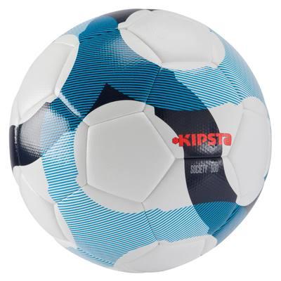 Ballon football Society 300 Hybride blanc bleu