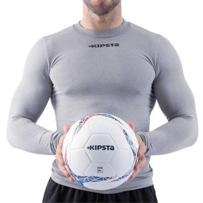 Ballon football F900 FIFA PRO taille 5 blanc bleu rouge