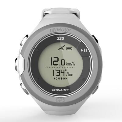 Montre GPS ONMOVE 220 GPS BLANC
