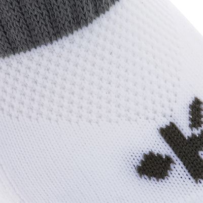 Chaussettes hautes football enfant F 500 blanc