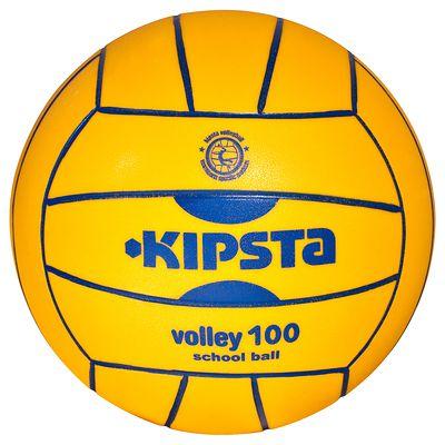 Ballon volleyball intérieur V 100 jaune