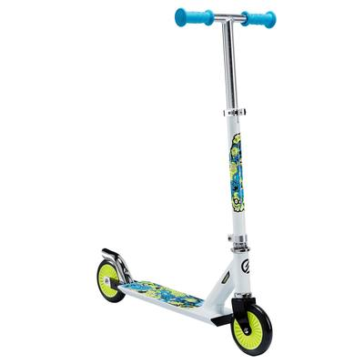 TROTTINETTE ENFANT PLAY 3 BLANC/FLUO