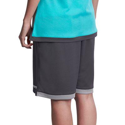 Short basketball femme B500 gris turquoise