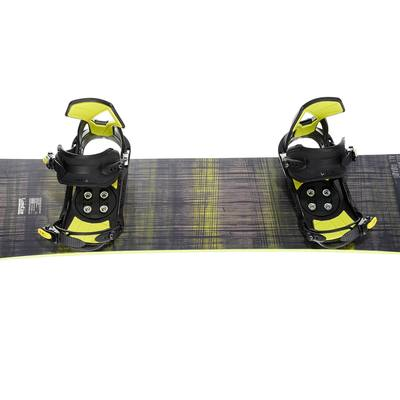 Pack snowboard all mountain, Homme, Bullwhip 500 All Road, gris et jaune