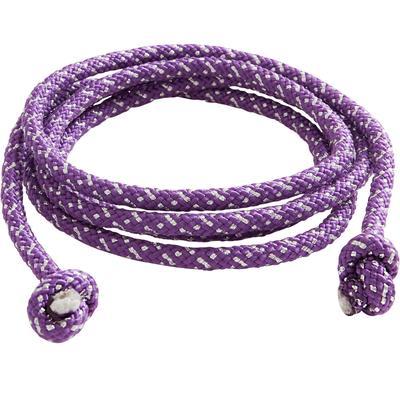 Corde de Gymnastique Rythmique (GR) de 165gr Violet pailleté