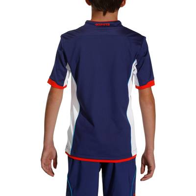 Maillot football enfant F500 bleu