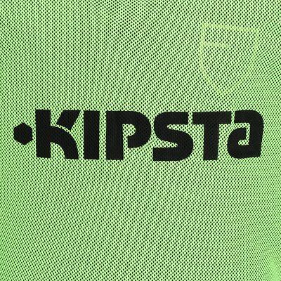 CHASUBLE DE SPORT KIPSTA ENFANT VERT