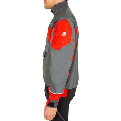 Blouson Dériveur DG500 Adulte - gris/rouge