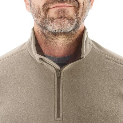 Polaire randonnée montagne homme Forclaz 50 beige
