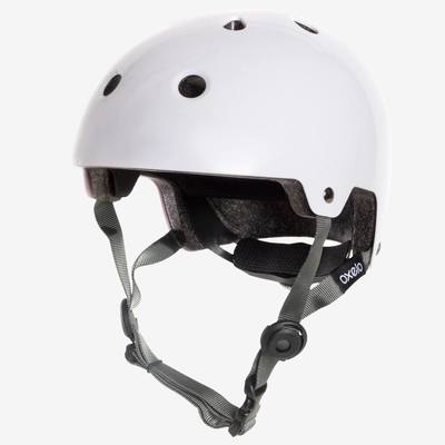 Casque roller skate trottinette PLAY 5 blanc