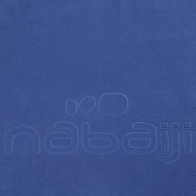 Serviette microfibre bleue foncée ultra compacte taille L 80 x 130 cm