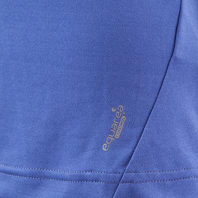 T Shirt Manches Courtes Randonnée TechFRESH 50 femme Bleu Foncé