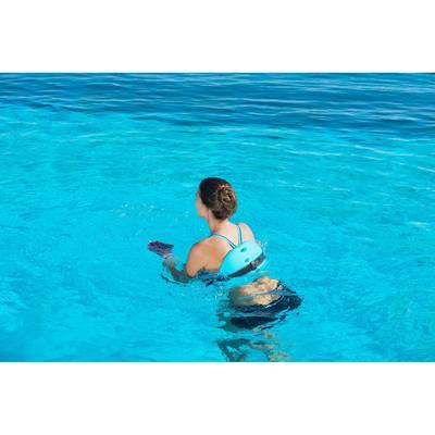 Ceinture de flottaison aquagym bleue