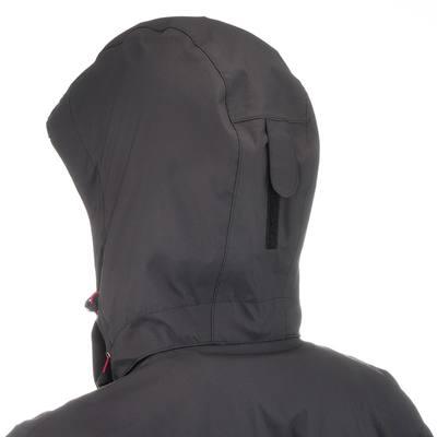 Veste Pluie Imperméable Randonnée Arpenaz 300 Femme Noir