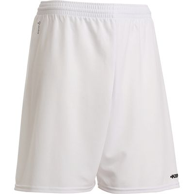 Short de football adulte F100 blanc