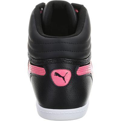 Chaussures marche active enfant Glyde Mid noir / rose