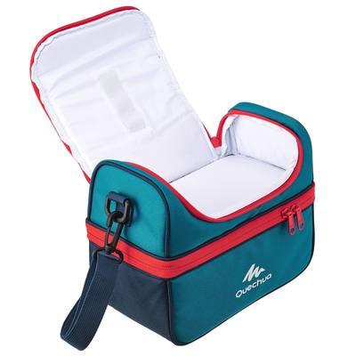 Glacière Lunch Box randonnée (avec 2 boîtes alimentaires) 4,4 litre bleu