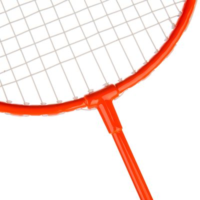 SET DE BADMINTON ADULTE SET DISCOVER MARINE ORANGE