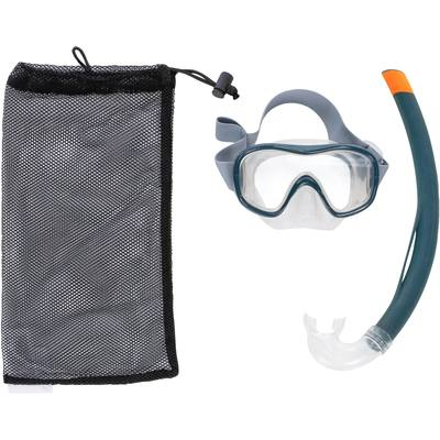 Kit masque tuba de snorkeling 500