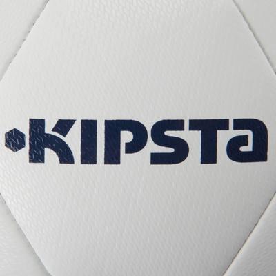Ballon football F100 Hybride taille 3 blanc bleu