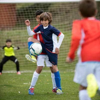 Maillot de football enfant F500 bleu