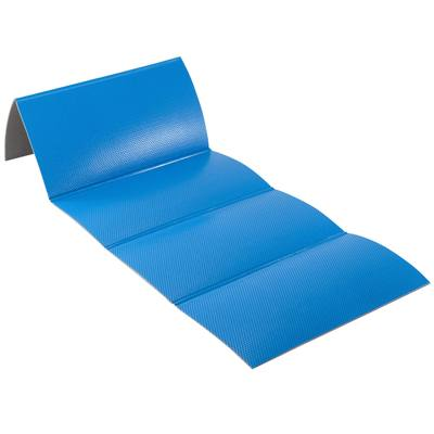 TAPIS 500 RESISTANT CHAUSSURES & PLIABLES PILATES TONING TAILLE M 8mm BLEU