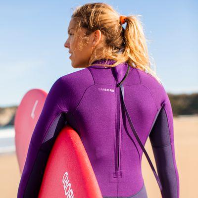 Combinaison SURF 100 Néoprène 2/2 mm  Femme