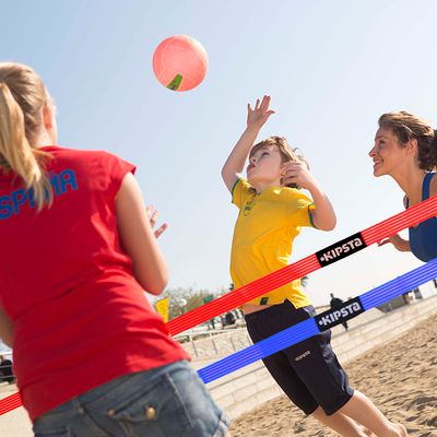 Filet beach volley The Wiz Net jaune