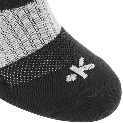 Chaussettes hautes rugby adulte Full H 500 noir
