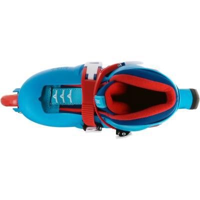 roller enfant PLAY 3 bleu rouge
