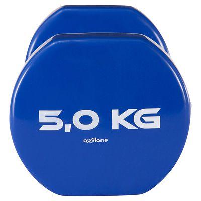 HALTERE GYM PILATES PVC 2*5 KG