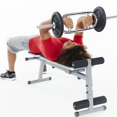 Barre triceps filetée diamètre 28 mm