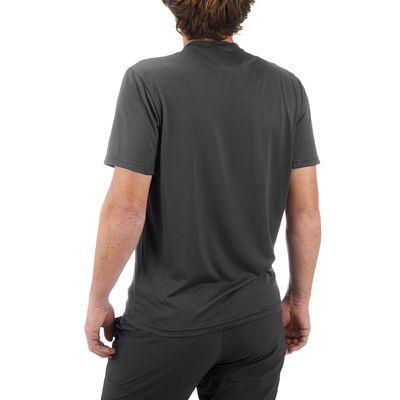 T Shirt Manches Courtes Randonnée TechFRESH 50 homme Gris Foncé