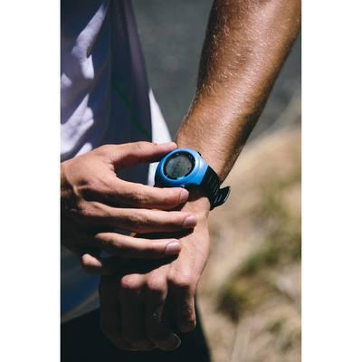Montre et ceinture cardiofréquencemètre ONRHYTHM 110 bleue