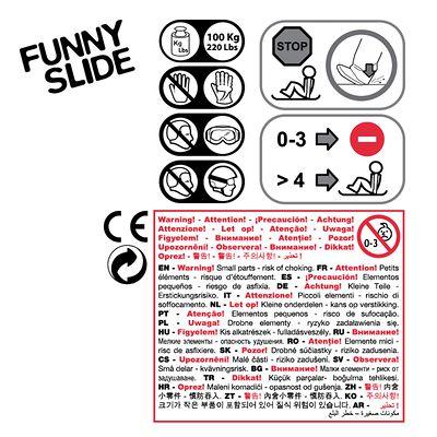 luge pelle à neige Funny Slide