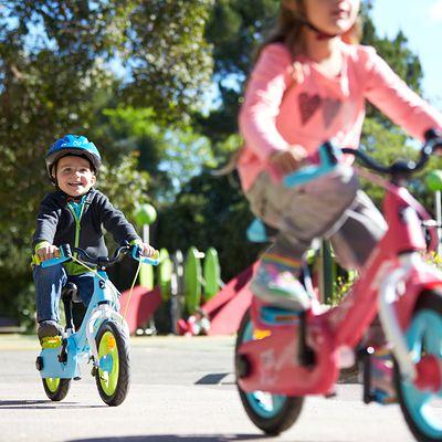 """Draisienne évolutive en vélo 12"""" Woony 500 Bleu"""