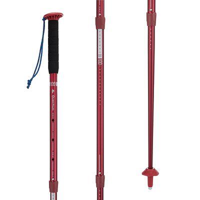 1 bâton de Randonnée arpenaz 100  rouge