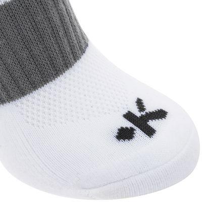Chaussettes hautes de football enfant F500 blanches