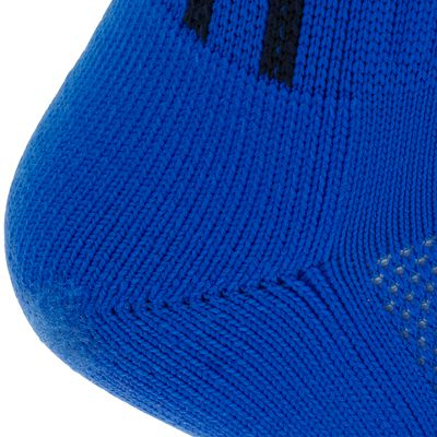 Chaussettes hautes football enfant F 500 bleu roi