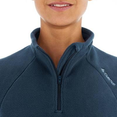 Polaire randonnée femme Forclaz 50 marine