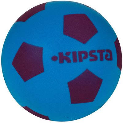 Mini ballon de football Mini foam 300  bleu violet