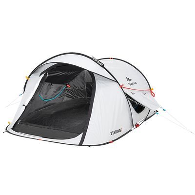 Tente de camping 2 seconds easy 2 personnes fresh&black