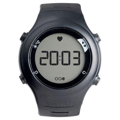 Montre et ceinture cardiofréquencemètre ONRHYTHM 110 noire